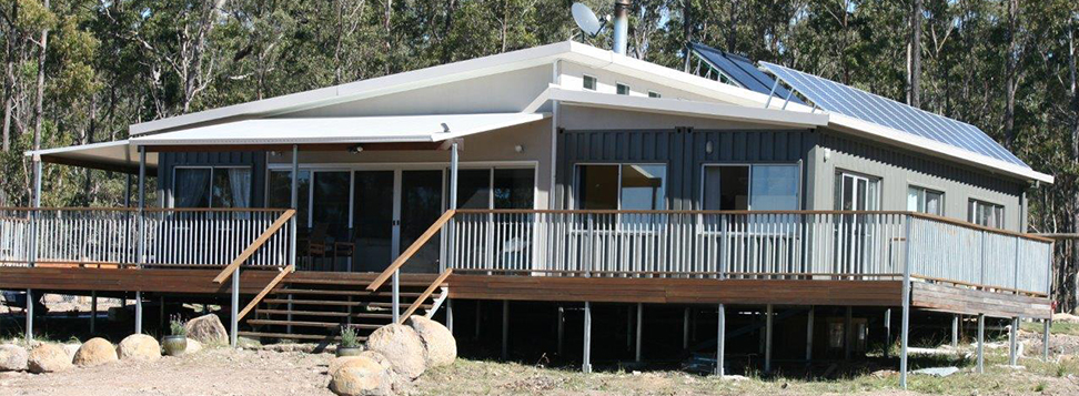 Australia's Largest Shipping Container Home